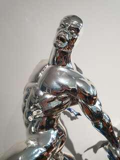Sideshow Chromed Silver Surfer Statue