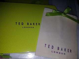 Ted Baker Dustbag and box