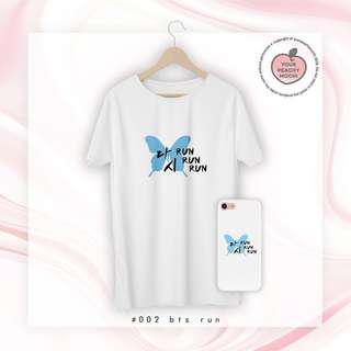 [🍑] BTS RUN Phone Case/T-shirt