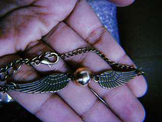PROMOSI Harry Potter Snitch Double Wing Pendant Beads