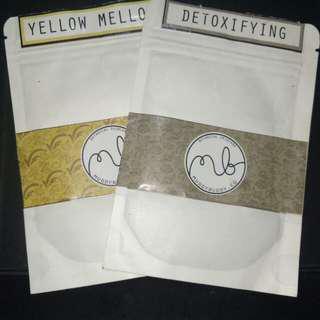 Muddy buddy yellow mellow detoxfying mask masker