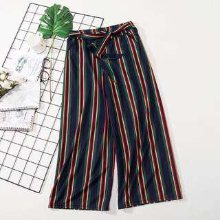 🆕 READY STOCK STRIPE PANT