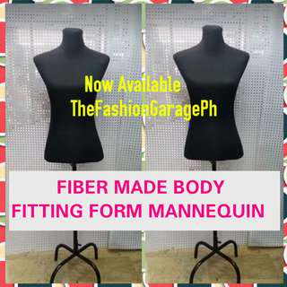 Fiber Made Body Dress Fitting Form Mannequins