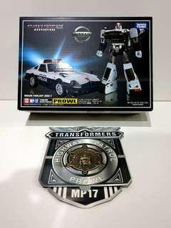 MISB Transformers Masterpiece Prowl MP-17