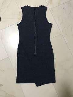 MDS dress navy blue M size sleeveless