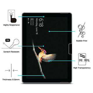 🚚 Microsoft Surface Go Mobilelite Smoothie Tempered Glass