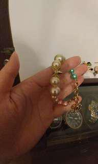 CHANEL彩色珠珠手鏈