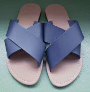 Slip-on blue strap