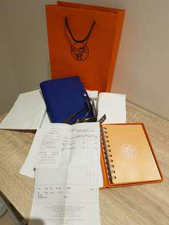 URGENT Hermes Ulysse agenda with refill
