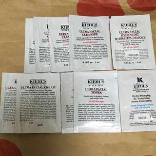*包郵*Kiehl's Sample 10pcs