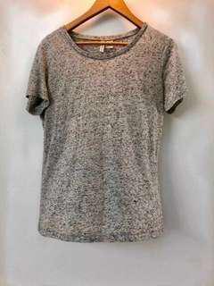 H&M Grey T-Shirt  #mcsfashion