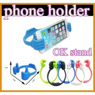 OK Thumb Hand Phone Tablet ipad iphone Stand Holder Phone