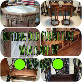 BUYING OLD FURNITURE