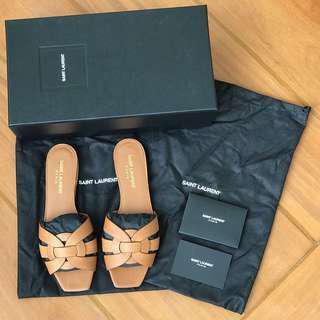 SAINT LAURENT Nu Pieds 05 Tribute Sandals Size 36 YSL Sandals not Hermes Oran