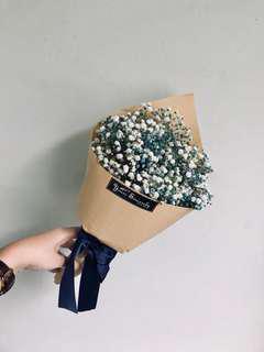 Birthday bouquet 💙 // baby's breath bouquet