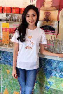 Bear Tee in White