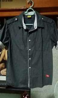 Dickies gray polo large