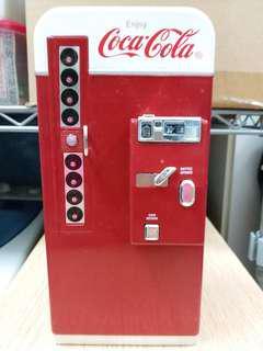 可口可樂汽水機錢罌 Coca Cola vending machine Bank