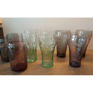 Coca Cola glass mug and cup