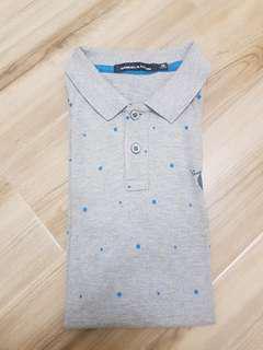 Samuel & Kelvin Polka Polo Shirt