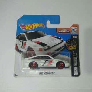 Hotwheels Honda CR-X SC