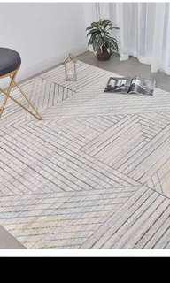 Brand new modern rug never been used carpet mat