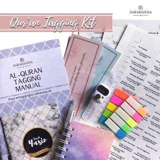 Quran Tagging Kit In English