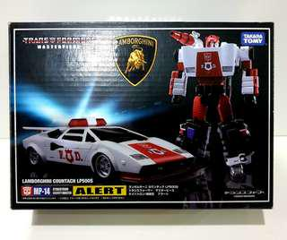 MIB Transformers Masterpiece Red Alert (MP-14)
