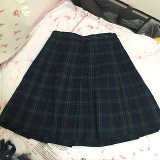 日本古著JK校服裙格仔裙 Japan Uniform