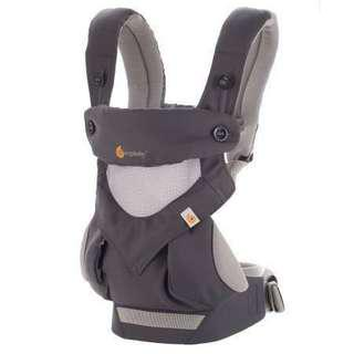 Ergobaby All Position 360 Cool Air Mesh Baby Carrier (USE TWICE!)