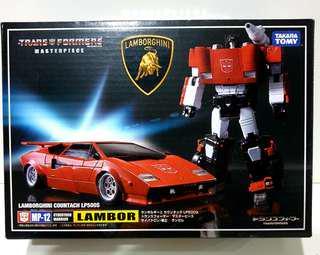 MISB Transformers Masterpiece Lambor/Sideswipe (MP-12)