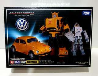 MISB Transformers Masterpiece Bumblebee (MP-21)