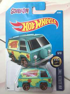 Scooby Doo Hot Wheels Limited Edition