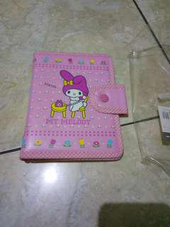 Folder diary sanrio my melody ori