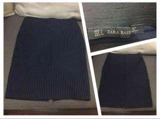 (Used)Zara Stripe Skirt 直條裙