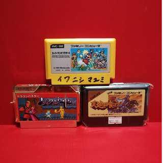 Nintendo Famicom lot