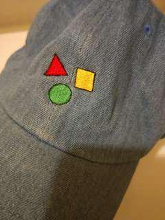 蠟筆小新牛仔帽100%韓國