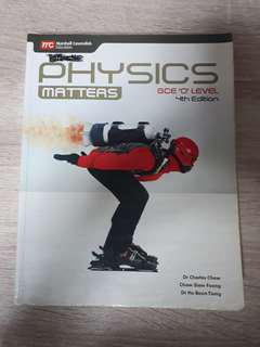 Pure physics :Physics Matters Textbook(4th edition)