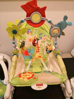 Fisher Price Rainforest rocking chair