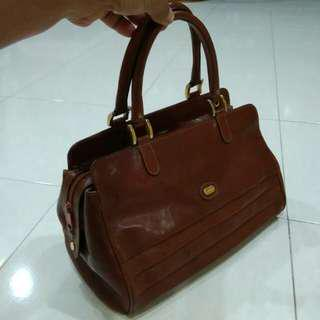 Handbag oroton full leather - clearance sale