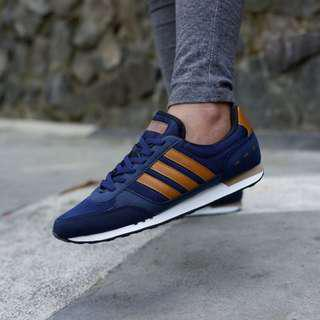 Adidas city racer navy ori made in indonesia