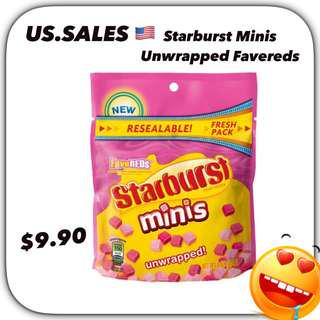 Starburst Minis Unwrapped Favereds from 🇺🇸
