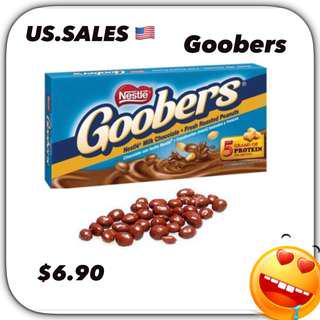 Goobers Peanut Chocolate Candy from 🇺🇸