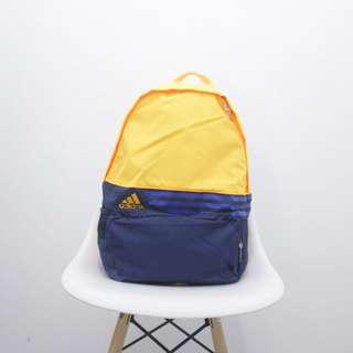 Adidas 3 stripes sport backpack yellow original