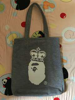 A Bathing Ape tote bag (可雙面用)