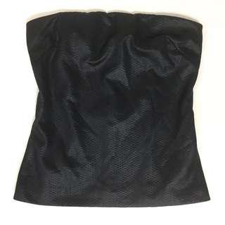 MNG Collection Black Tube Top