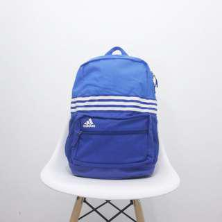 Adidas 3 stripes sport backpack blue M original