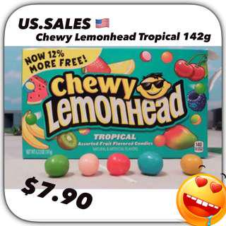 Chewy Lemonhead Tropical from 🇺🇸