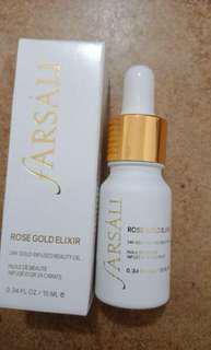 FARSALI ROSE GOLD ELIXIR mini (10ml) moisturizer