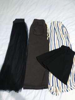🚚 長短裙👗褲裙